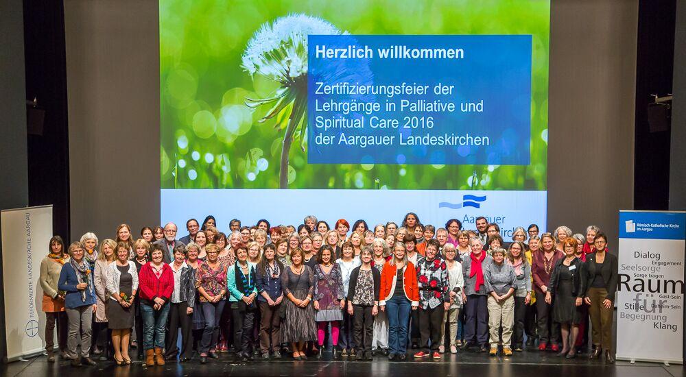 Palliative Care und Begleitung der Aargauer Landeskirchen: Die Erfolgsgeschichte geht weiter